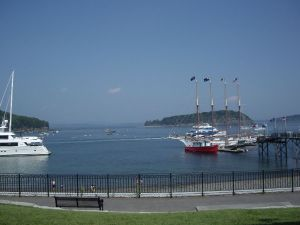 Bar Harbor, Maine.